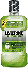 "Fragrances, Perfumes, Cosmetics Mouthwash ""Caries Protection"" - Listerine Caries Protection Mouthwash"
