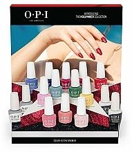 Fragrances, Perfumes, Cosmetics Set - O.P.I Gel Color Hollywood Spring 2021 16pc Salon Display