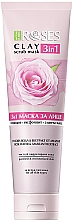 Fragrances, Perfumes, Cosmetics Rose Water & Amaranth Clay Face Mask - Nature Of Agiva Roses Pink Clay 3 In 1 Scrub Mask