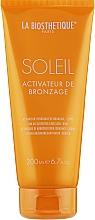 Fragrances, Perfumes, Cosmetics Tan Accelerating Moisturizing Emulsion - La Biosthetique Soleil Tan Activator