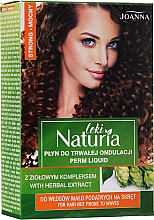 "Fragrances, Perfumes, Cosmetics Permanent Hair Curling Liquid ""Strong"" - Joanna Naturia Loki Liquid"