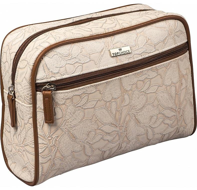 """Makeup Bag """"Lace"""", 98628, light green - Top Choice"""