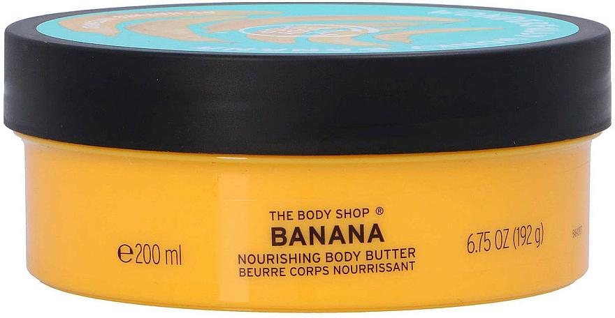 Body Butter - The Body Shop Banana Body Butter — photo N2