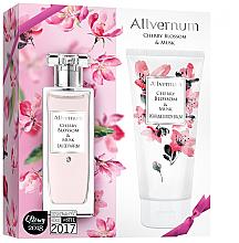 Fragrances, Perfumes, Cosmetics Allverne Cherry Blossom & Musk - Set (edp/50ml + b/lot/200ml)