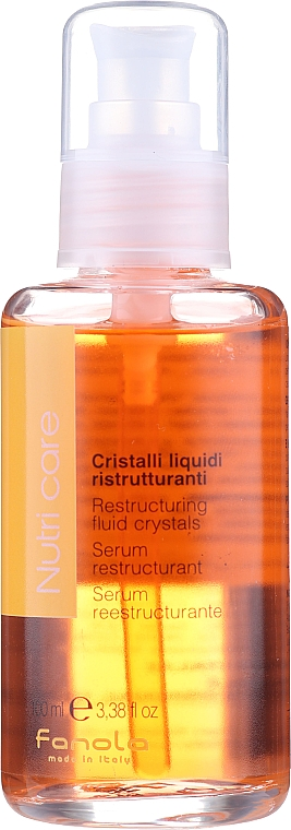 Dry Hair Fluid - Fanola Nutry Care Restructuring Fluid