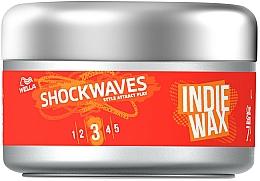 Fragrances, Perfumes, Cosmetics Styling Hair Wax - Wella ShockWaves Indie Wax