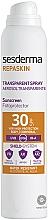Fragrances, Perfumes, Cosmetics Sunscreen Body Spray - SesDerma Laboratories Repaskin DNA Repair Spray Transparente SPF30