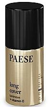 Fragrances, Perfumes, Cosmetics Foundation - Paese Long Cover Luminous