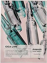 Fragrances, Perfumes, Cosmetics Sheet Ampoule Mask - Heimish Cica Live Ampoule Mask