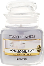 """Fragrances, Perfumes, Cosmetics Scented Candle """"A Calm & Quiet Place"""" - Yankee Candle A Calm & Quiet Place"""