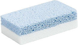 Fragrances, Perfumes, Cosmetics Pumice Nail File, white/blue - Peggy Sage Pumice Nail File