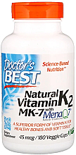 Fragrances, Perfumes, Cosmetics Natural Vitamin K2 MK-7 with MenaQ7, 100 mcg, capsules - Doctor's Best