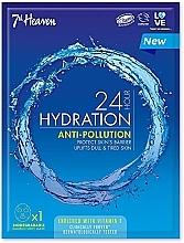 Fragrances, Perfumes, Cosmetics Facial Sheet Mask - 7th Heaven 24H Hydration Anti-Pollution Mask