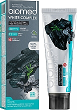 """Fragrances, Perfumes, Cosmetics Toothpaste """"Triple Enamel Whitening System"""" - Biomed White Complex"""