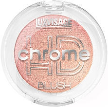 Fragrances, Perfumes, Cosmetics Blush - Luxvisage HD Chrome Blush