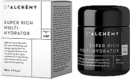 Fragrances, Perfumes, Cosmetics Rich Cream for Dry Skin - D'Alchemy Super Rich Multi-Hydrator