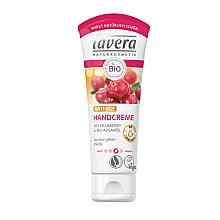 Fragrances, Perfumes, Cosmetics Argan Oil & Cranberry Hand Cream - Lavera Anti-Age Handcreme