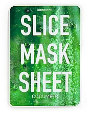 "Fragrances, Perfumes, Cosmetics Facial Sheet Mask ""Cucumber"" - Kocostar Slice Mask Sheet Cucumber"