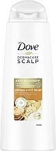 Fragrances, Perfumes, Cosmetics Anti-Dandruff, Dryness & Itching Shampoo - Dove Dermacare Scalp Dryness & Itch Relief Anti-Dandruff Shampoo