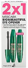 Fragrances, Perfumes, Cosmetics Set - Astor Big & Beautiful Eye Opener Set (mascara/2x12ml) (910 -Black)