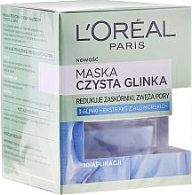 "Fragrances, Perfumes, Cosmetics Anti-Impurities Face Mask ""Pure Clay"" - L'Oreal Paris Skin Expert"