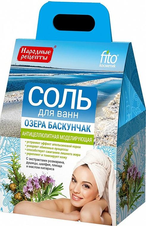 "Anti-Cellulite Bath Salt ""Lake Baskunchak"" - Fito Cosmetics  — photo N1"