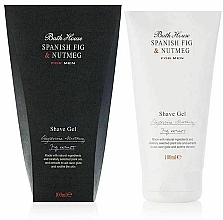 Fragrances, Perfumes, Cosmetics Bath House Spanish Fig and Nutmeg - Shaving Gel