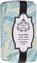 Fragrances, Perfumes, Cosmetics Natural Aloe Soap - Essencias De Portugal Natura Aloe Vera Soap