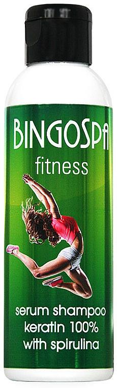 100% Keratin Serum-Shampoo - BingoSpa Serum Shampoo Keratin 100% With Spirulina Fitness