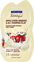 "Fragrances, Perfumes, Cosmetics Face Mask ""Apple Cider Vinegar"" 4in1 - Freeman Feeling Beautiful 4-in-1 Apple Cider Vinegar Foaming Clay (mini size)"