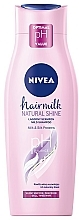 "Fragrances, Perfumes, Cosmetics Hair Shampoo-Milk ""Natural Shine"" - Nivea Hair Milk Natural Shine"