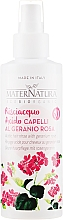 Fragrances, Perfumes, Cosmetics Hair Spray - MaterNatura Acidic Hair Rinse with Rose Geranium