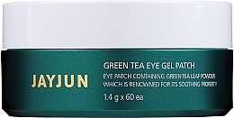 Fragrances, Perfumes, Cosmetics Green Tea Hydrogel Patches - Jayjun Green Tea Eye Gel Patch