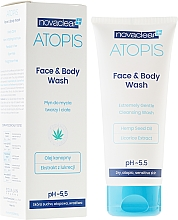 Fragrances, Perfumes, Cosmetics Face and Body Wash - Novaclear Atopis Face&Body Wash