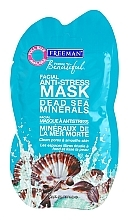 "Fragrances, Perfumes, Cosmetics Anti-Stress Facial Mask ""Dead Sea Minerals"" - Freeman Feeling Beautiful Dead Sea Minerals Anti-Stress Mask (mini size)"