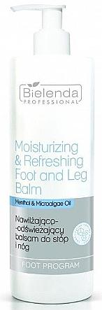 Moisturizing and Refreshing Foot Balm - Bielenda Professional Foot Program