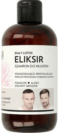"Strengthening & Repairing Elixir-Shampoo ""White Lotus"" - WS Academy"