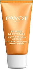 Fragrances, Perfumes, Cosmetics Radiance Renewing Anti-Fatigue Night Mask - Payot My Payot Sleeping Pack