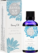 Fragrances, Perfumes, Cosmetics Concentrated Body Oil - Arnica 35 Strong Oil
