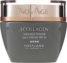 Fragrances, Perfumes, Cosmetics Anti-Wrinkle Day Cream SPF35 - Oriflame NovAge Ecollagen Wrinkle Power SPF 35