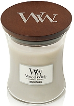 Fragrances, Perfumes, Cosmetics Scented Candle in Glass - WoodWick Warm Wool Candle