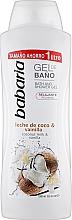 Fragrances, Perfumes, Cosmetics Shower Gel - Babaria Coconut Milk & Vanilla Shower Gel