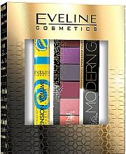 Fragrances, Perfumes, Cosmetics Set - Eveline Cosmetics Modern Glam Push Up (masc/10ml + eye/pal/9.6g)