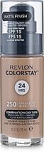 Fragrances, Perfumes, Cosmetics Foundation - Revlon ColorStay for Combination/Oily Skin SPF 15