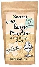"""Fragrances, Perfumes, Cosmetics Bath Powder """"Orange Sorbet"""" - Nacomi Sunny Orange Sorbet Bath Powder"""