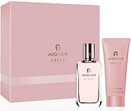 Fragrances, Perfumes, Cosmetics Aigner Debut - Set (edp/50ml+b/lot/100ml)