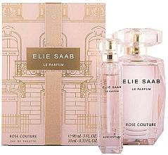 Fragrances, Perfumes, Cosmetics Elie Saab Le Parfum Rose Couture - Set (edt/90ml + edt/mini/10ml)