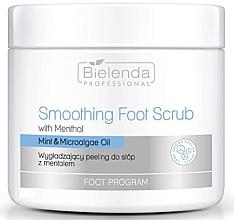 Fragrances, Perfumes, Cosmetics Smoothing Foot Scrub - Bielenda Professional Foot Program