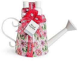 Fragrances, Perfumes, Cosmetics Set - IDC Institute Royal Garden (sh/g/150ml+b/lot/150ml+salt/100g+sponge)