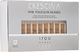 Fragrances, Perfumes, Cosmetics Women Hair Growth Stimulating Lotion - Crescina Hair Follicular Islands Re-Growth